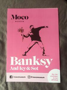 Banksy-Moco-Amsterdam-Exhibition-Flyer
