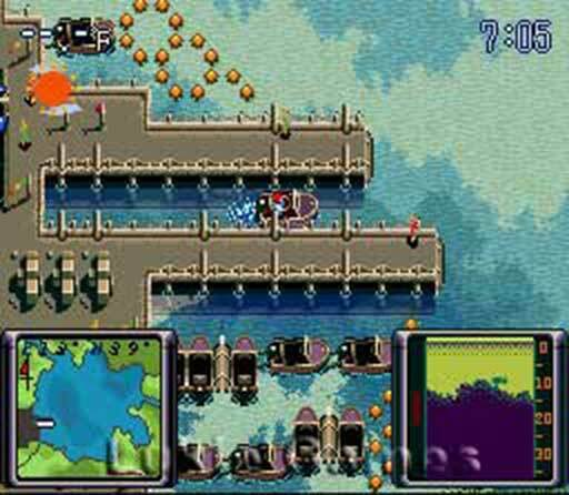 Bassin's Black Bass - Rare SNES Super Nintendo Game