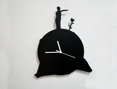The Little Prince - Le Petit Prince -Asteroid B-612 - Wall Clock