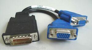 Molex Dms 59 Dms-59 - 2x Vga Dual Vga-y éclats Cable 338285-006 338285-008-afficher Le Titre D'origine Aoy7epyp-07163547-509488547