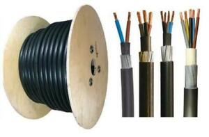 6mm Outdoor SWA Cable Underground Armoured 2 3 4 5 Core Outside Wire HOT TUB