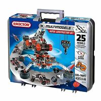 Meccano-erector - Super Construction Set - Ripped Cardboard