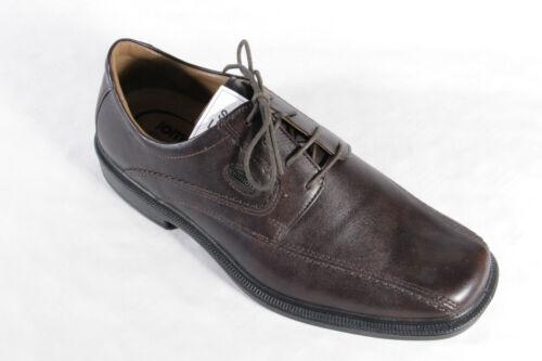 Homme Brun À Basses Jomos Baskets Chaussures Lacets Neuf Cuir 1vqxCRwp