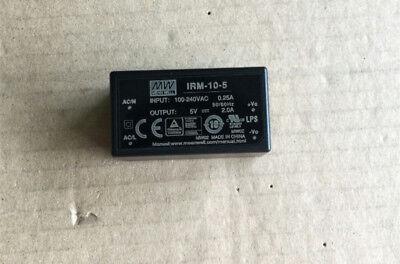 1PC MEAN WELL IRM-10-5 5V 2A 10W Single Output Power Supply #V3800 CH