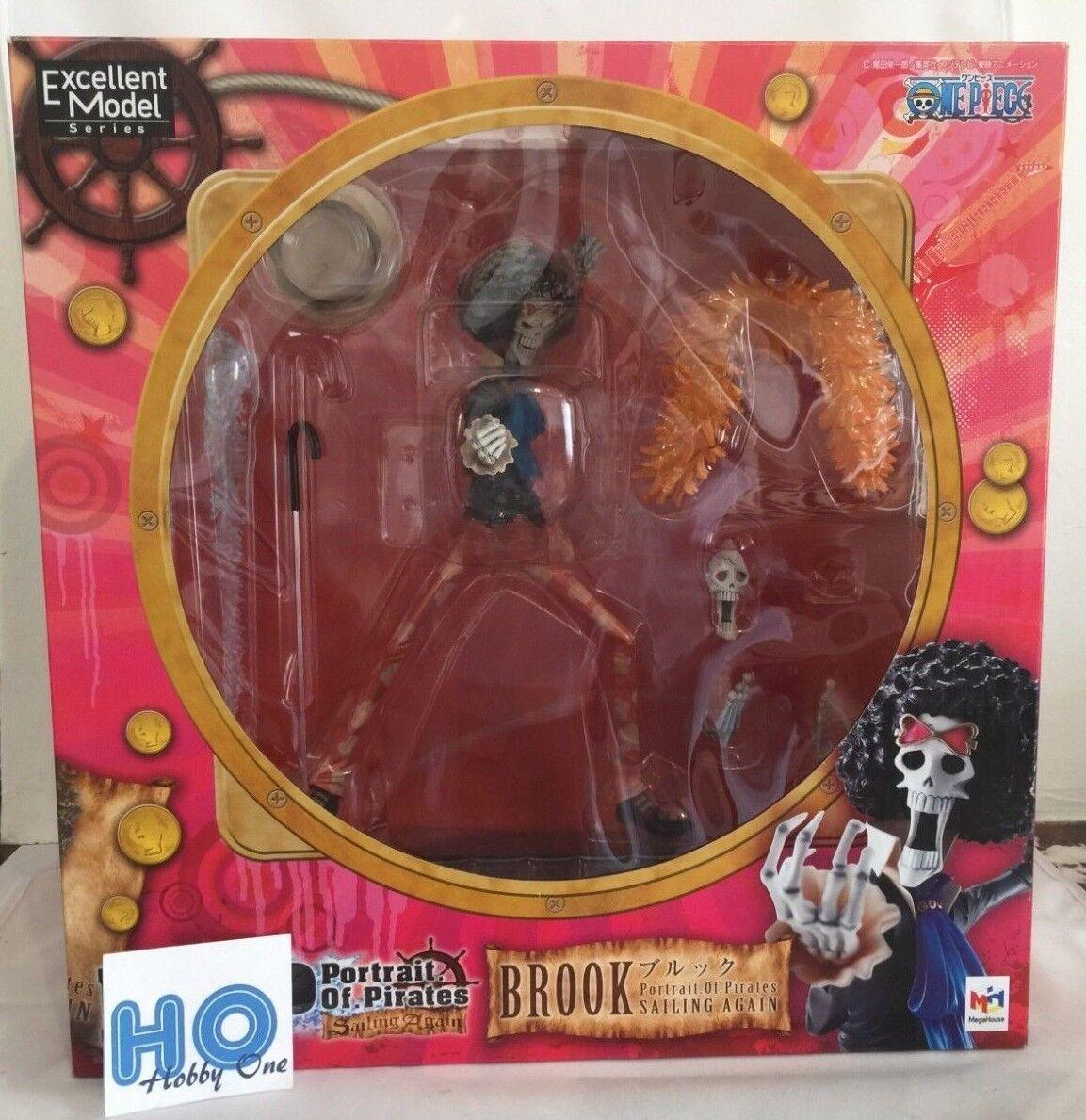One Piece - Brook - P.O.P. ( Portrait of  Pirates ) - MegaHouse - Authentique  spedizione gratuita in tutto il mondo