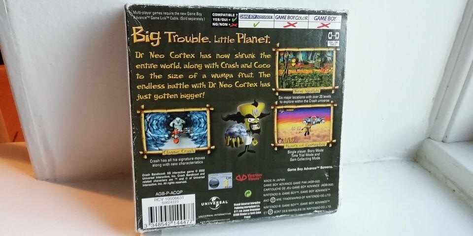 Crash Bandicoot: XS, Gameboy Advance