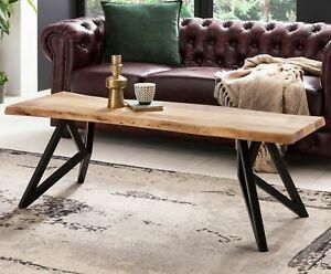 FineBuy Tavolino da caffè FB51416 tavolo da salotto legno massello ...