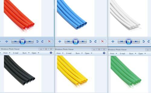 4mm Heat Shrink Tubing 6 Mix Color 15 Cm Kit Para Manga Tubo Sleeving