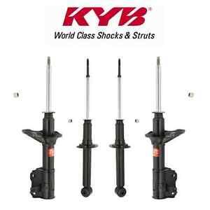 KYB 4 STRUTS SHOCKS MITSUBISHI 1.5 MIRAGE 4// 1997 98-2002 332112 332113 341140