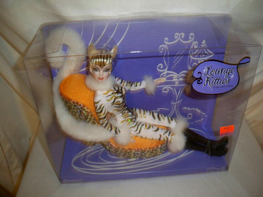 2003 Muñeca Barbie Salón Gatitos CC nunca quitado de la Caja Animal Print Mattel  C2478