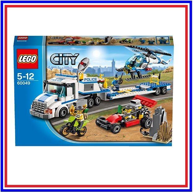 LEGO City 60049   Le Transport de l'Hélicoptère   NEUF SCELLE