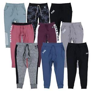 Victoria-039-s-Secret-Pink-Sweatpants-Lounge-Bottoms-Sweats-Graphic-Logo-Vs-New-Nwt