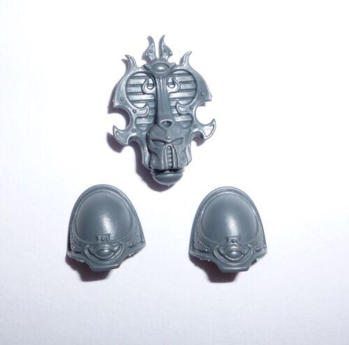 Thousand Sons rubric Marines Sorceror Head/épaulettes – G579