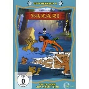Yakari-confezione-regalo-6-2-dvd-2-CD-NUOVO