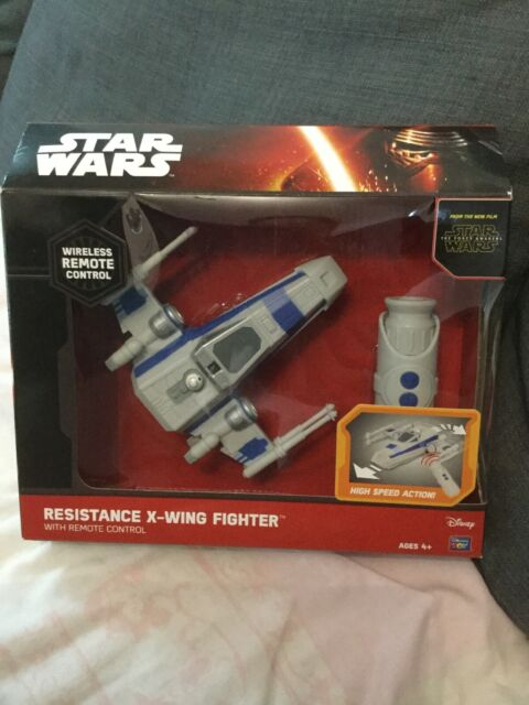 NEW Star Wars The Force Awakens Remote Control Resistance X Wing Fighter