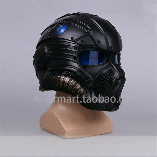 Game Gears of War Onyx Guard Helmet COG Combat Helmet Lens Cosplay Prop Fancy