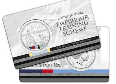"Australia at War Series RAM 50 cent UNC Coin /"" TOBRUK /"" UNC"