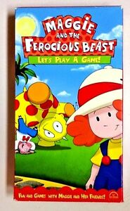 Maggie And The Ferocious Beast 2003 Nelvana Vhs Playtested Lets