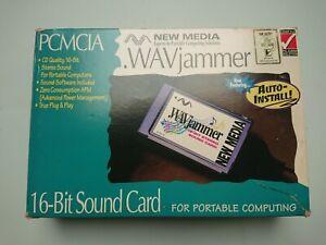 Wavjammer PCMCIA Scheda Audio