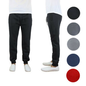 Galaxy By Harvic Men's Slim Fit Fleece Jogger Pants – ALL SIZES