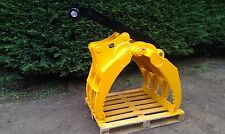 excavator grapple log waste scrap grab suit 360 diggers and backhoe new pins inc