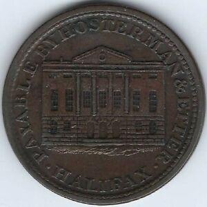 NOVA-SCOTIA-Hosterman-amp-Etter-1815-Halfpenny-Token-Breton-882-NS-10B1-Inv-4320