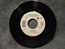 """45 RPM 7"""" Record Hank Williams Jr. Young Country & Buck Naked WB Promo 7-28120"""
