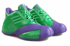 ADIDAS Men's 'HULK T-MAC 1' Green/Purple Q16926 BASKETBALL SHOES - 13 / 48