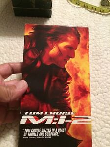 Mission Impossible Ii 2000 Pg 13 2h 3min Action Adventure Thriller 97361562735 Ebay