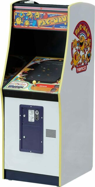 namco arcade game machine collection Pacman 1/12 scale ABS-painted PVC Figure