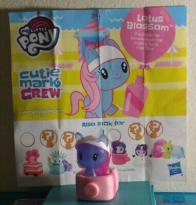 My Little Pony Cutie Mark Crew 4 Beach Day Lotus Blossum Neon