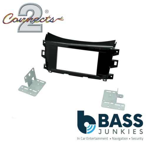 For Nissan NP300 2015 On Car Stereo Double Din Fascia Facia Plate Panel CT23NS22