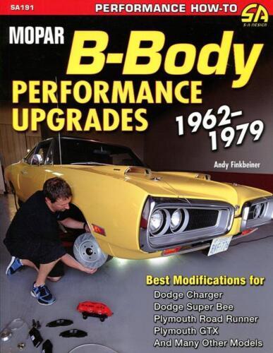 MOPAR B BODY PERFORMANCE UPGRADES MANUAL BOOK DODGE PLYMOUTH GTX