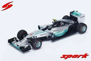Mercedes W06 N.Rosberg Monaco 2015 - 1:18 Spark