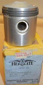1935-1940-Matchless-250cc-original-NOS-33-5mm-030-034-bore-Heplex-piston-assembly