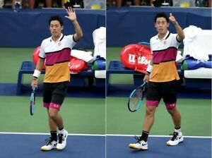 Uniqlo-Kei-Nishikori-NK-USA-Aperto-2019-Dry-Ex-Tennis-Polo-Uomo-Nuovo-M
