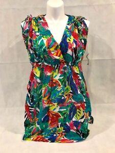 Ralph-Lauren-COTTON-Beach-Swim-Farrah-Cover-up-Dress-POCKETS-Rainforest-Plus-1X