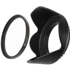 52mm MC UV Filter vergütet & Sonnenblende Tulpe lens hood für 52mm Gewinde