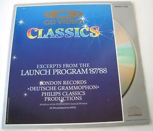 Rare-Polygram-Classics-CD-Video-Laser-Disc-Promo-LOOK