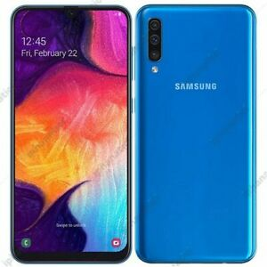Samsung-A505-Galaxy-A50-Blue-128GB-4GB-RAM-Dual-SIM-Display-6-4-034-Android-10