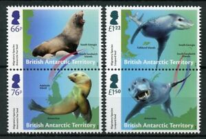 Image Is Loading Bat Brit Antarctic Ter 2018 Mnh Seals Migratory