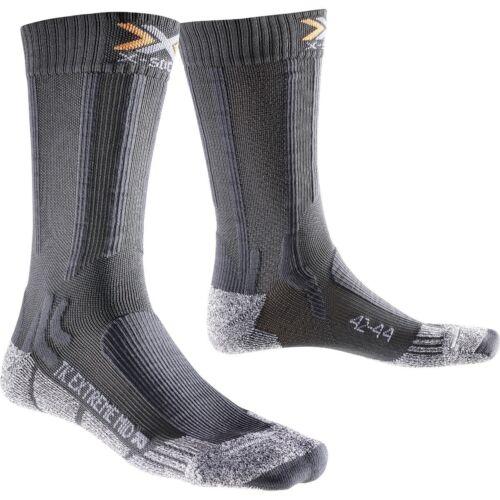 X-Socks Trekking Extreme light Mid Calf Sportsocken Wandersocken grau