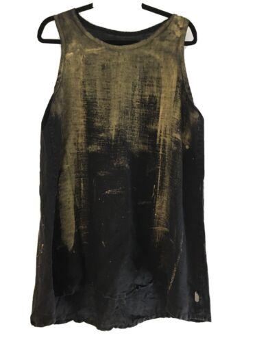 Skif International Robyne Dress Black Linen With G