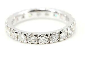 Memory-Ring-750-Diamant-18K-Weissgold-20-Brillanten-1-83ct-VS1-SI2-H-Groesse-54