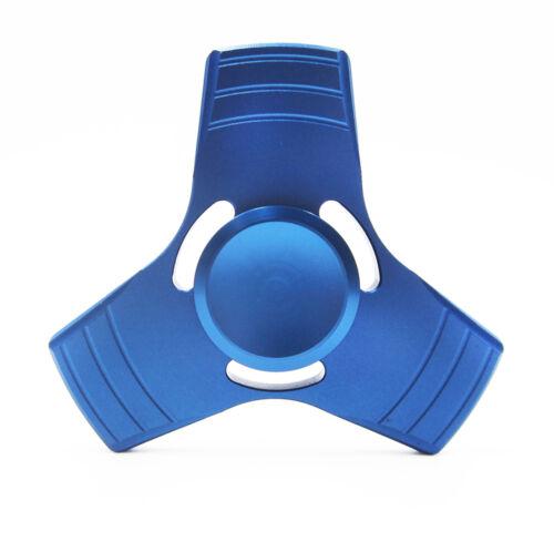 Hand Spinner Tri-Fidget Aluminum Ceramic Bearing Desk Focus EDC Finger Gyro