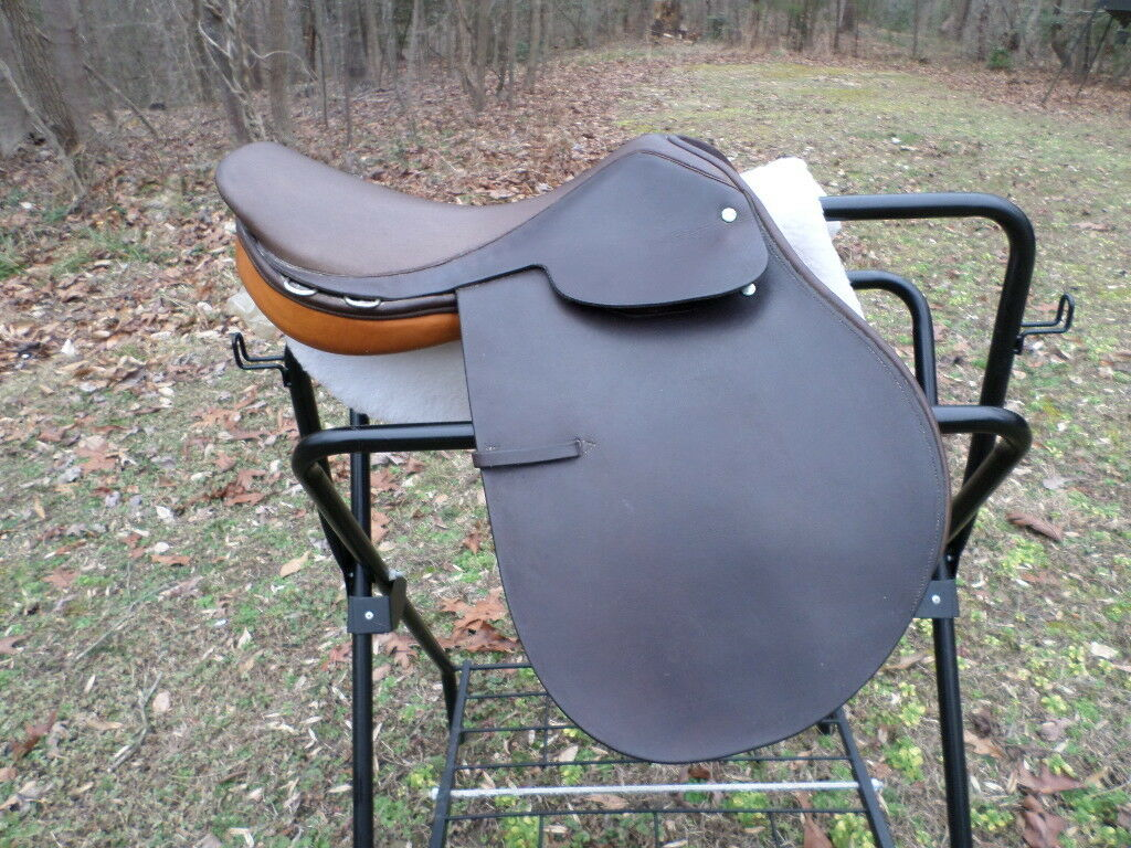 NEW  Ashley  & Clarke 16   ALL PURPOSE Saddle spring tree brown  novelty items