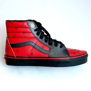 86463eb36b Vans Deadpool Marvel SK8-HI Sneakers M 9.5 W 11 EUR 42.5 (+1)
