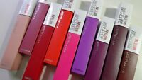 Maybelline Superstay Matte Ink Lip Color Liquid Lipstick Choose Shade
