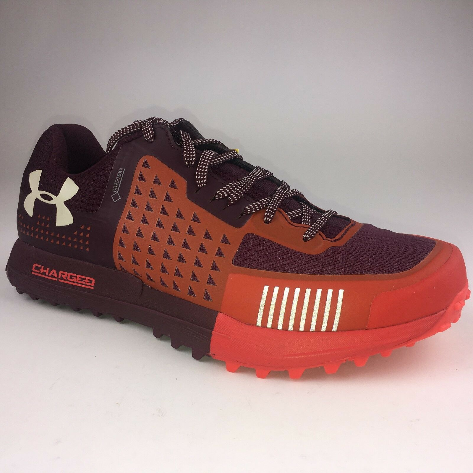 New Under Armour Men's 9 3021135-500 Horizon RTT GTX Trail Running Red Sample