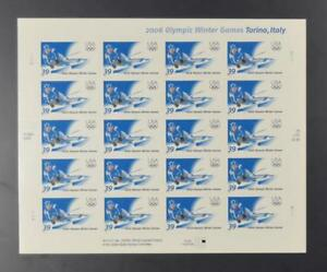 US-SCOTT-3995-PANE-OF-20-WINTER-OLYMPIC-GAMES-STAMPS-39-CENT-FACE-MNH